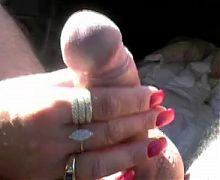 Flashing Boobs Pussy and finally Cock