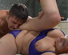 Horny Russian Milf wants to ride a Russian Stallion
